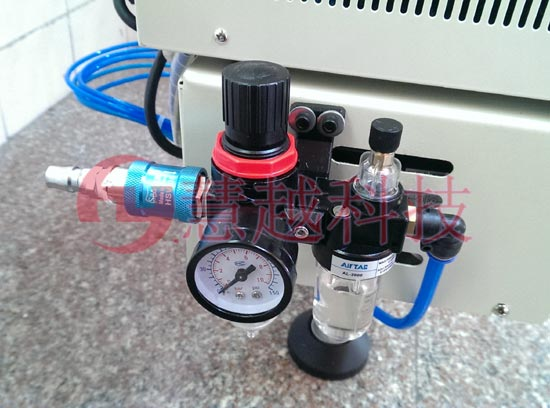 空气过滤器,除去液态水、液态油的压缩空气会经过滤芯进行再以此过滤