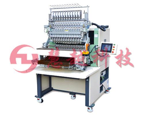 电感线圈12主轴绕线机开关电源变压器八轴全自动绕线机