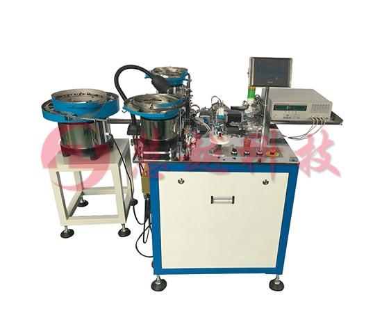 变压器生产高端自动化磁芯组装包胶机(带检测)