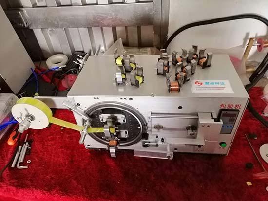 变压器包胶带机